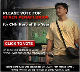 Vote for Efren Penaflorida CNN Hero of the Year