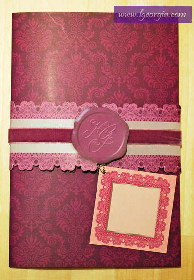 Cheers to a Gorgeous Life!: This Is It! Our Wedding Invitation