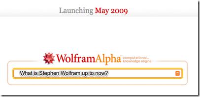 Wolfram Aplha Video