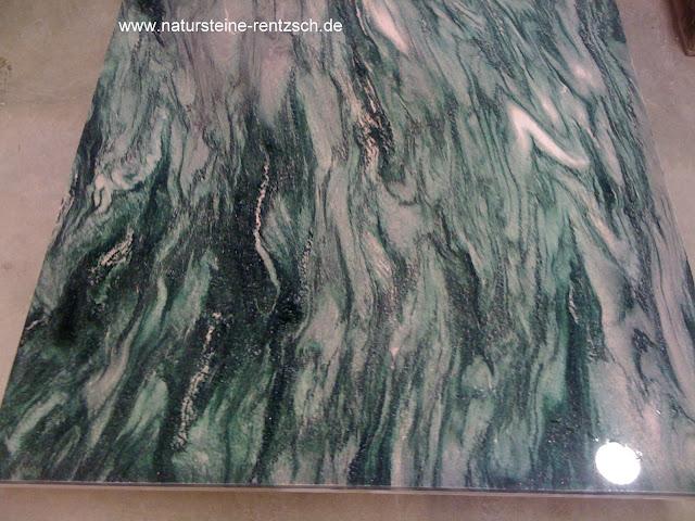 tischplatte granitplatte arbeitsplatte marmorplatte gr n gemasert naturstein neu ebay. Black Bedroom Furniture Sets. Home Design Ideas