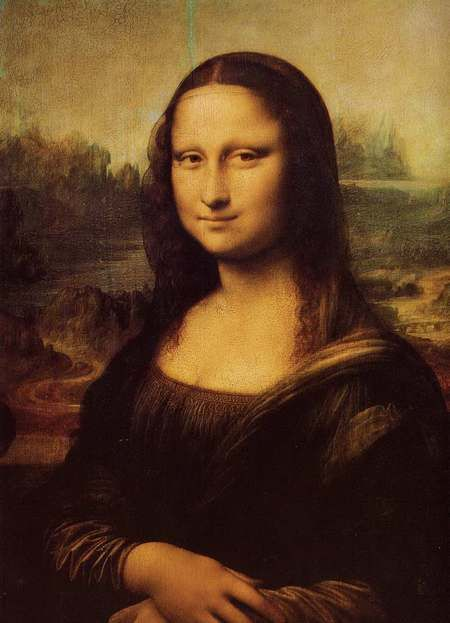 达·芬奇名作《蒙娜丽莎》