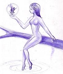 Fairy Tale - O zana si un spiridus in padurea fermecata