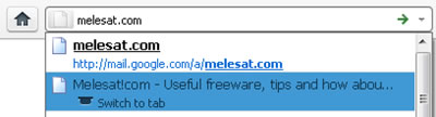 Firefox Swicth Tab