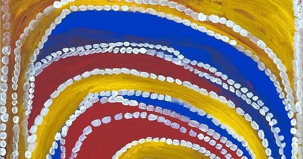 Sur les pas d 39 une collection d 39 art aborig ne r sonance for Peinture resinance