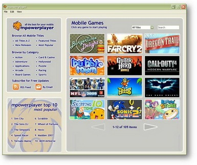 mpowerplayer, mig33, java aplikasi, java game, java emulator