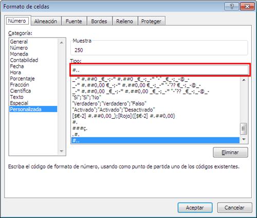 Dar formato personalizado a una celda de valor_imagen4