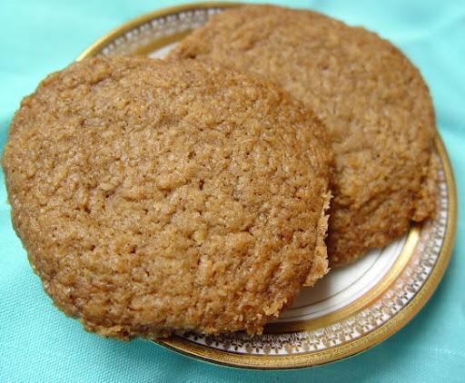 Crunchy Coconut Biscuits