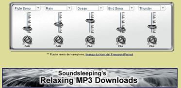 Musica rilassante, sleep-aids, riduzione dell'ansia, strumenti di relax_1269976124886