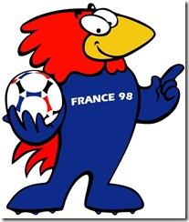 France 1998- mascota
