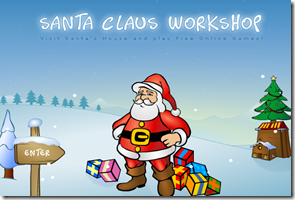 SANTA CLAUS and CHRISTMAS GAMES at SantaGames.Net_1293142977393