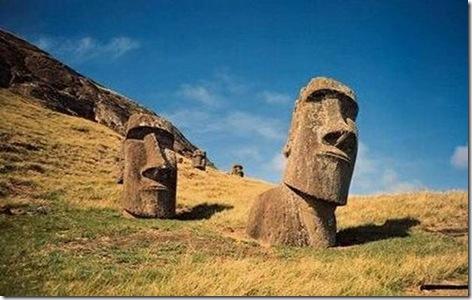 insula Pastelui-moai