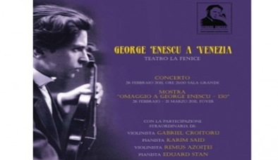 george enescu in italia