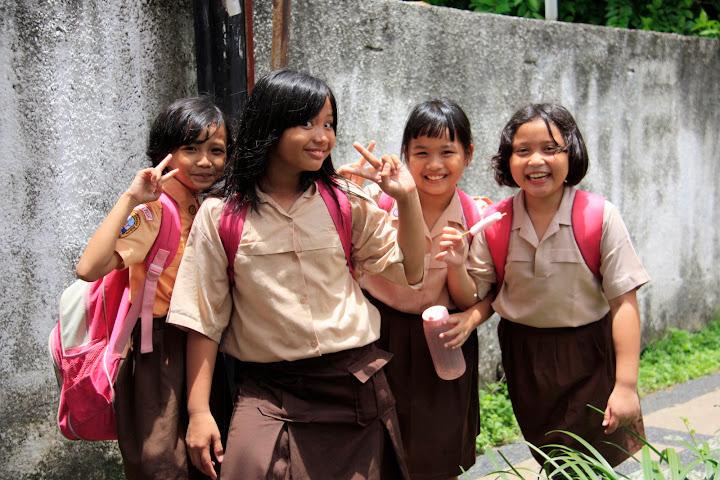 Indonezyjskie dziewczynki