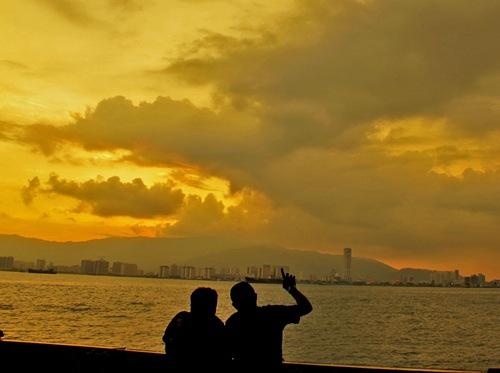 Ferry sky
