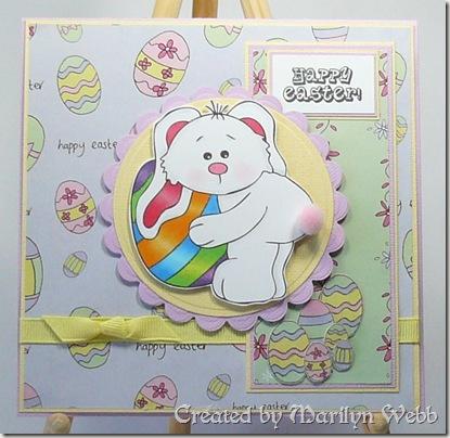 Bunny Stamp Fairy