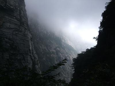 三叠泉峡谷