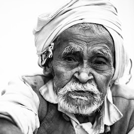 Old Man by Abhishek Pandey's PhotoGraphy - People Portraits of Men ( india )