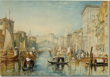 Turner Rialto Bridge
