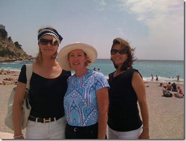 Laurie, Denise, Sandra