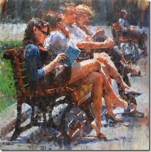 Reading in the Park 30x30 $2600