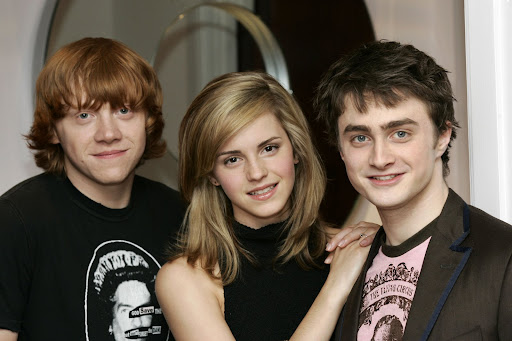 Emma Watson,Daniel Radcliffe,Rupert Grintand the new Harry Potter film  wallpapers