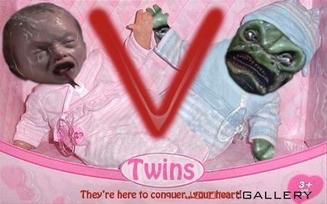Brinquedos Bizarros Twins