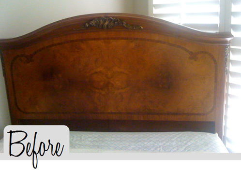 Live The Home Life Furniture Flipping Melissa's Headboard