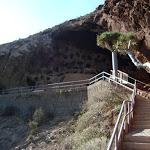 Cenobio de Valeron - Weg zu den Höhlen