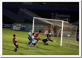 El gol de Mauricio Romero de Veracruz
