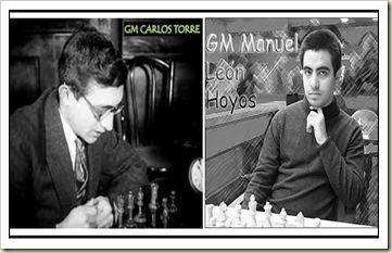 Carlos Torre y Manuel León