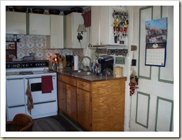 Kitchen before stove 1
