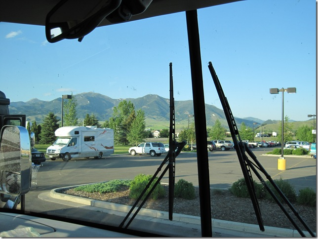 Mountian view from WAL*MART