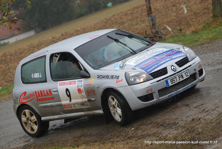 Alexis MURAT / Johan GRES - Clio RS F214 Rallye%20des%20C%C3%B4tes%20du%20Tarn%202010%20659