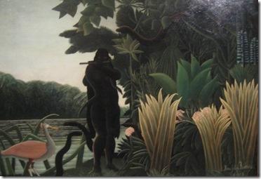La encantadora de serpientes- Henri Rousseau