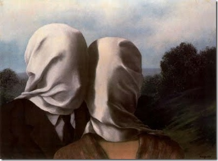 los amantes magritte grande