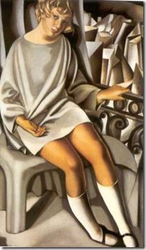 kizzette en el balcón, 1927