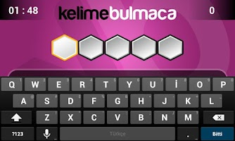Screenshot of Kelime Bulmaca