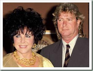 Elizabeth Taylor dan Larry Fortensky