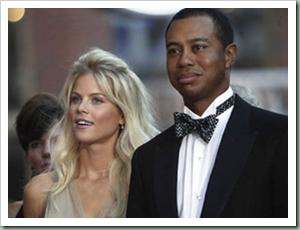 Tiger Woods dan Elin Nordegren