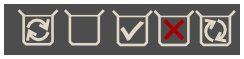 dropbox monochrome notification area icons