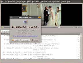 subtitleeditor 0.36.1 ubuntu