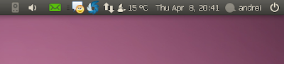 indicator applet green icon - ubuntu 10.04 screenshot