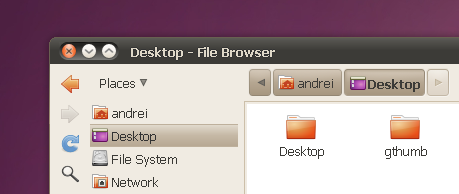 Nautilus elementary 2.30 vertical toolbar