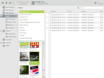 banshee meego 1.0 screenshot