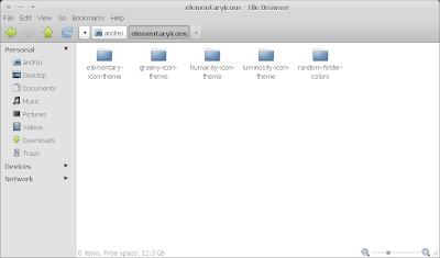elementary theme nautilus ubuntu