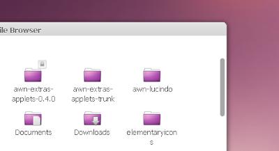 elementary theme scrollbars