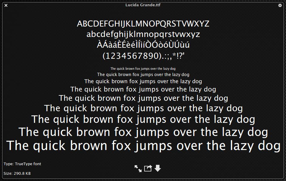 Using Downloaded Fonts Mac