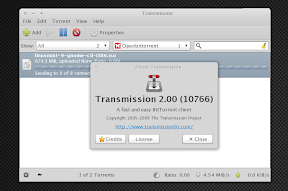 transmission 2.0 bittorrent
