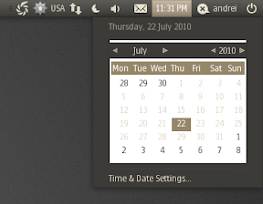 indicator datetime