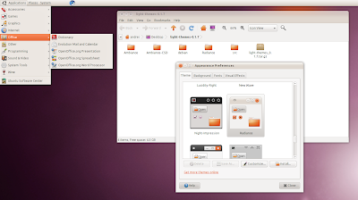 Radiance Ubuntu 10.10 Maverick Meerkat